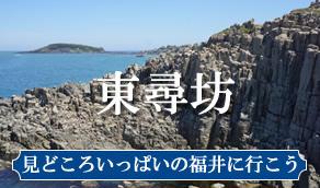 東尋坊 見どころ沢山の福井に行こう!