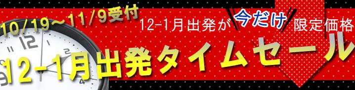12~1月タイムセール