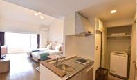 長期滞在におすすめの沖縄ホテル!キッチン付のコンドミニアムタイプ!「ウェルネスヴィラブリッサ」
