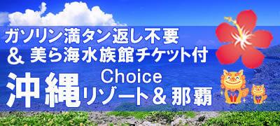沖縄リゾート&那覇◆ガソリン満タン不要&美ら海水族館チケット付