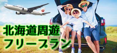 お好みプランをチョイス!北海道周遊プラン