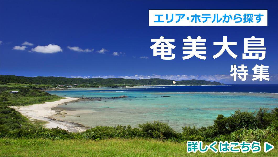 関西発 ホテル・エリアから選ぶ奄美大島特集