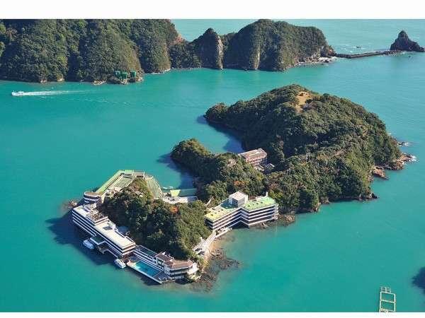 ホテル中の島(南紀勝浦)