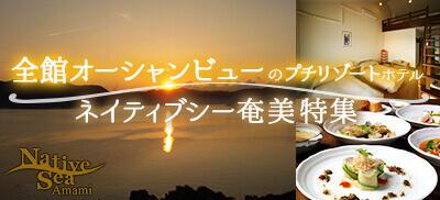 格安奄美大島旅行・ツアー時に泊まりたいホテルネイティブシー奄美