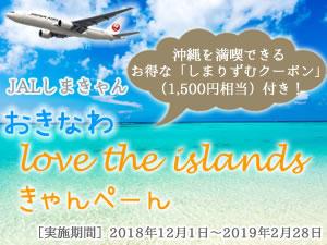 JAL沖縄 Love the Islandsきゃんぺーん