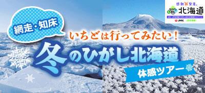 北海道 流氷ツアー特集