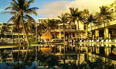 《ビーチ目の前!WBF人気No1リゾートホテル》ホテルムーンビーチ