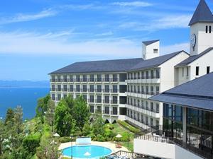 天然温泉露天風呂が人気の「リゾートホテルオリビアン小豆島」