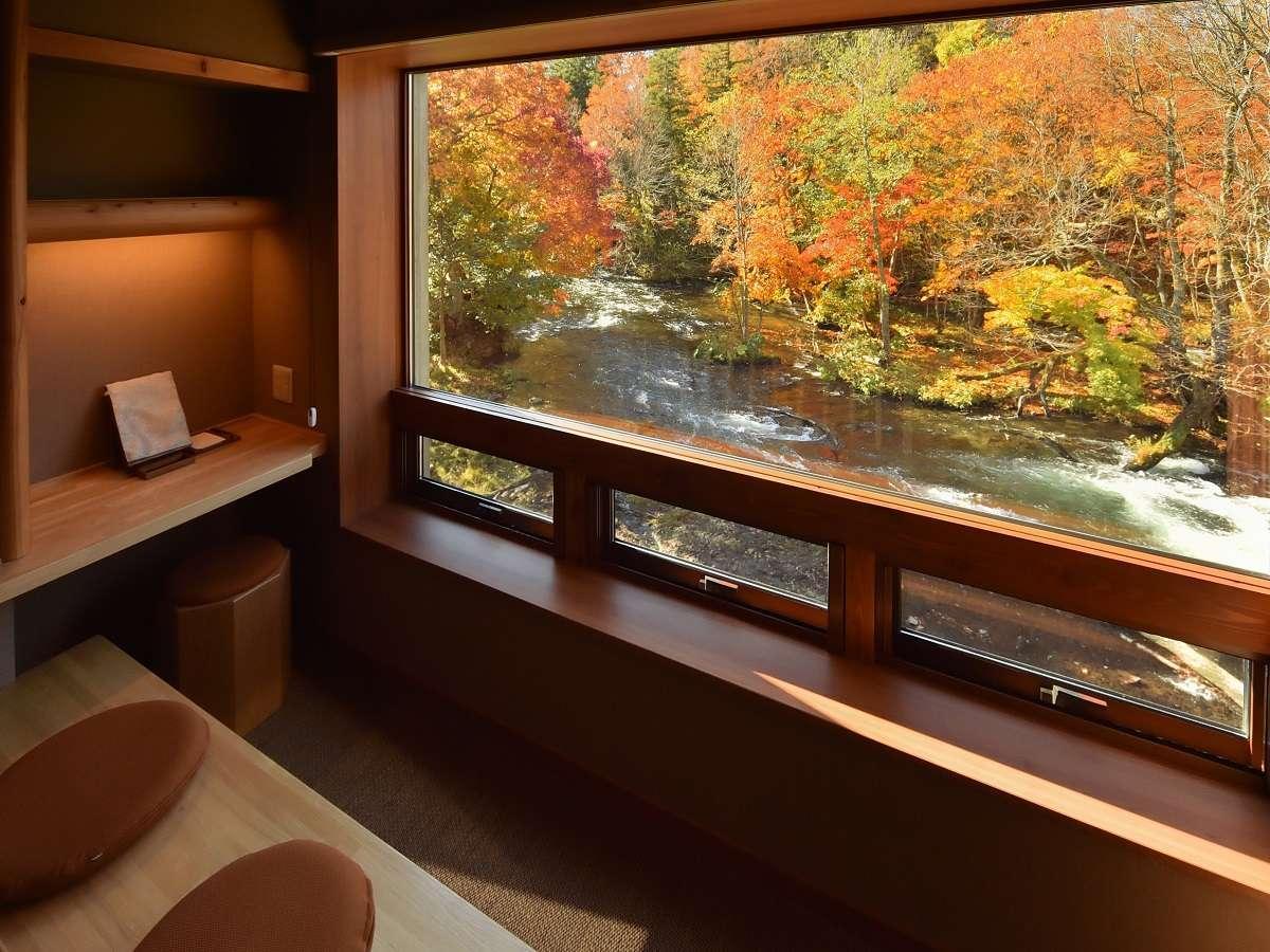 全室檜造り風呂完備!カムイの湯 ラビスタ阿寒川