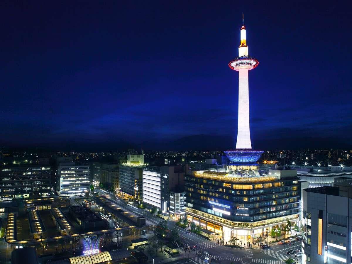 JAL旅京都!JR京都駅徒歩2分!京都タワーホテルステイ!