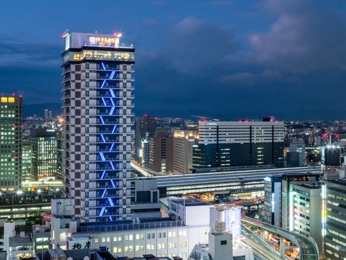 JALで行く大阪!ホテルWBF新大阪スカイタワー