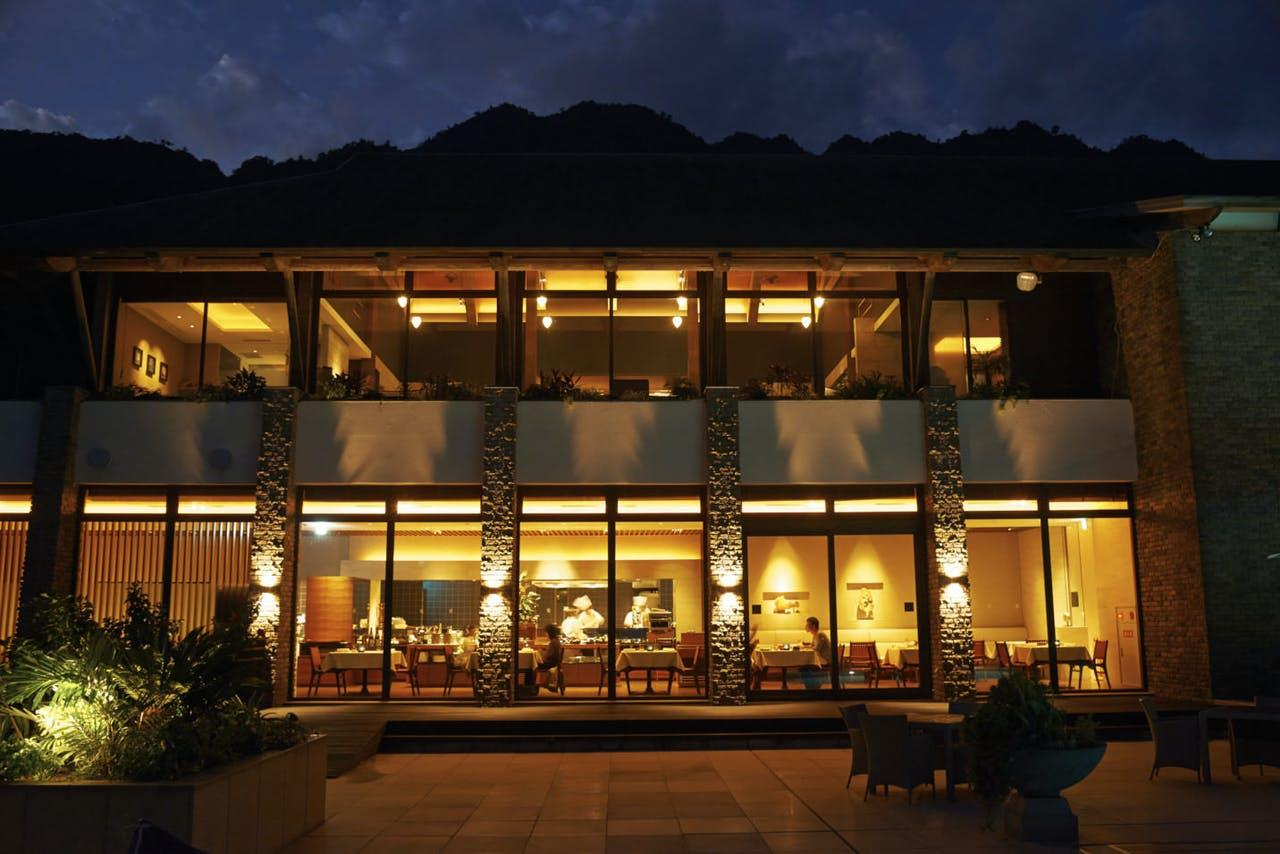 屋久島のオーベルジュ型リゾートホテル滞在!