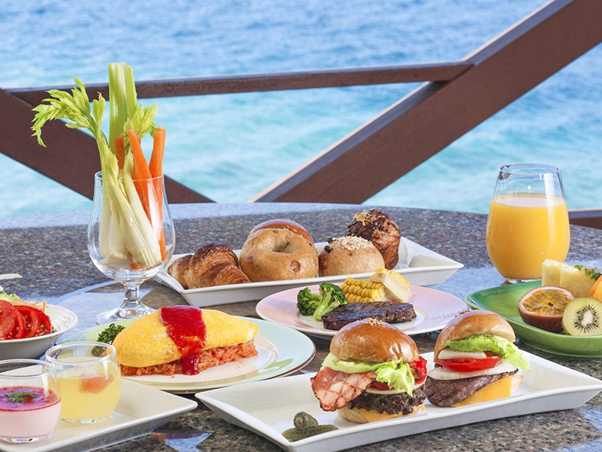 朝食自慢の沖縄本島リゾートホテルプラン