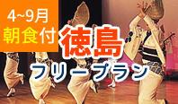 4~9月出発 徳島フリープラン